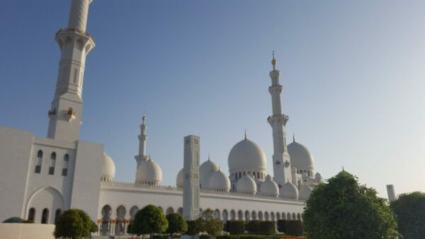 Grand Mosque in the Sunset