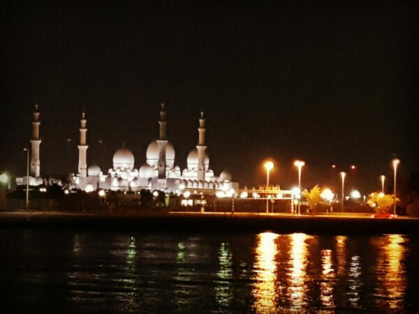Grand Mosque watching on Moonlight Boat Tour